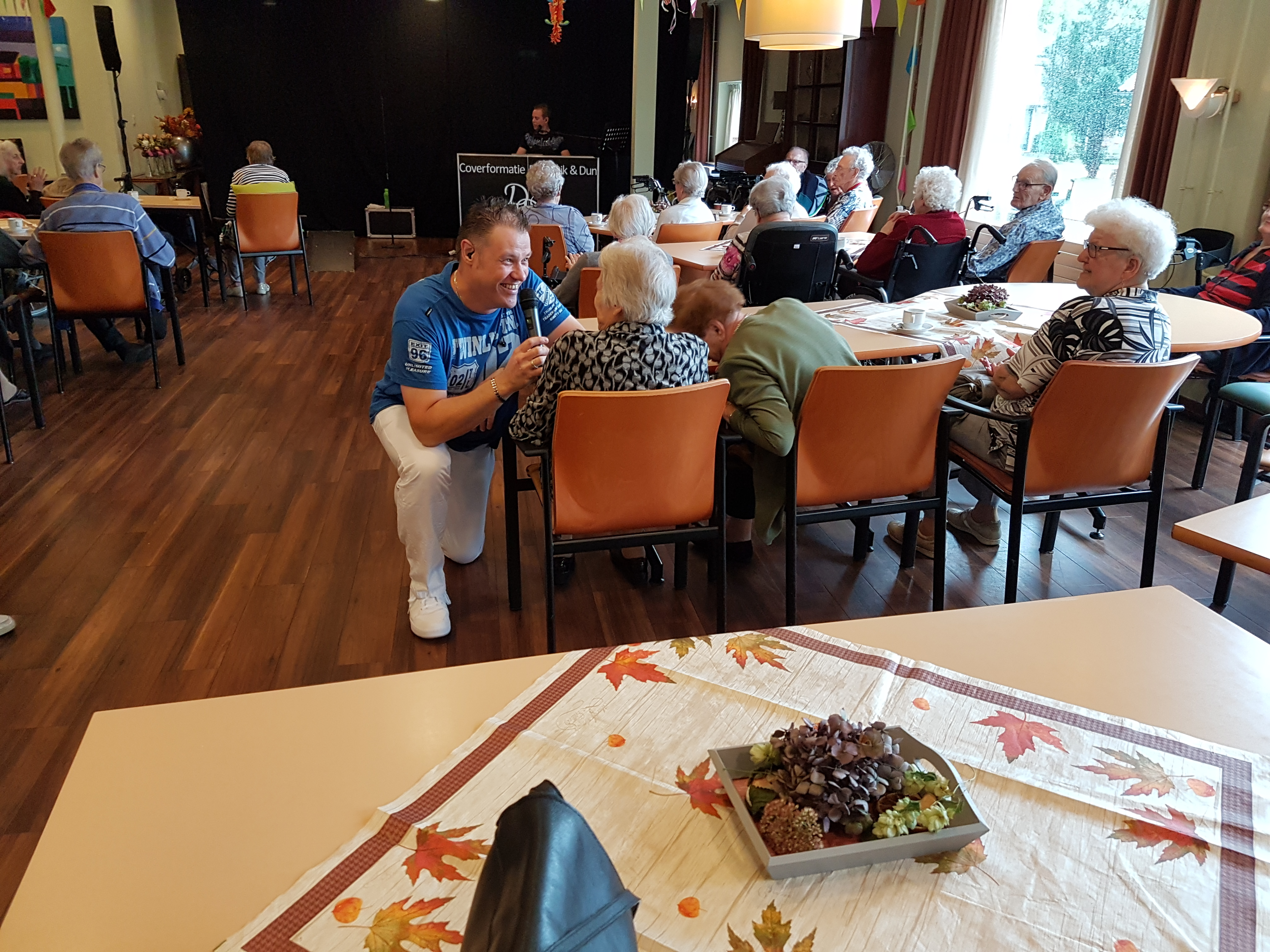 Optreden voor ouderen