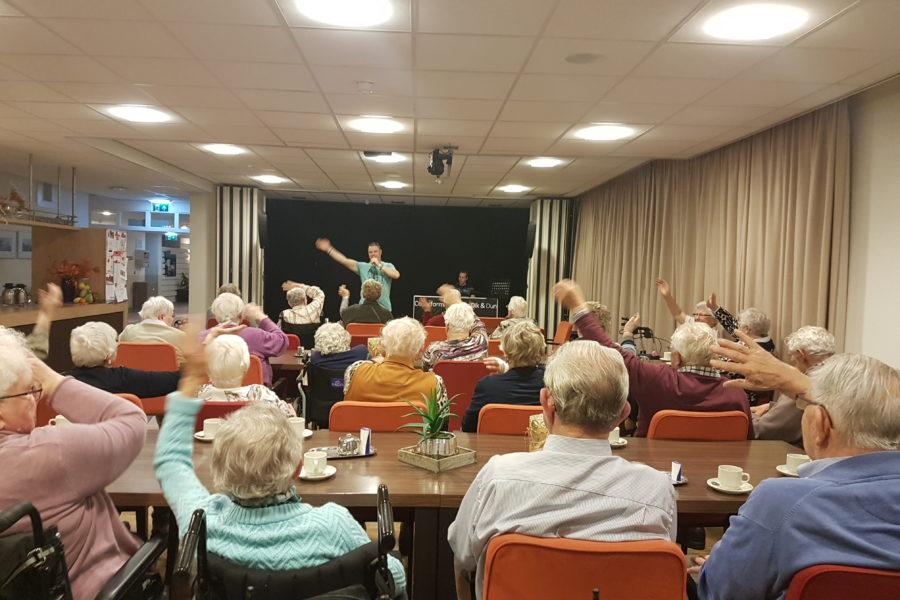 Optreden Swaenewoerd te Raalte 16-11-2017.